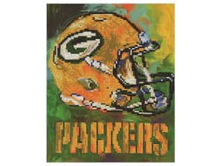 gems: Diamond Art Kit 10 in. x 12 in. Intermediate NFL Team Green Bay Packers