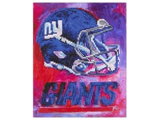 Diamond Art Kit 10 in. x 12 in. Intermediate NFL Team New York Giants