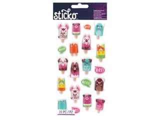 Sticko Dimensional Stickers - Classic Pupcicles