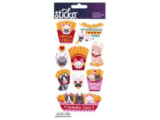 EK Sticko Stickers Classic Frenchie Fries