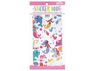 American Crafts Sticker Book Small Fantasy Animal
