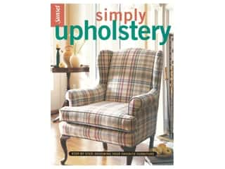 books & patterns: Leisure Arts Simply Upholstery Book