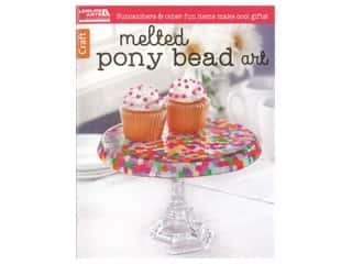 Leisure Arts Melted Pony Bead Art Book