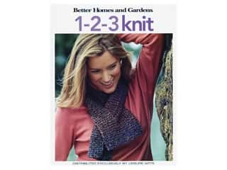 Leisure Arts Better Homes & Gardens 1-2-3 Knit