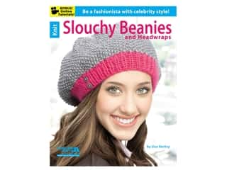 yarn: Leisure Arts Knit Slouching Beanies & Headwraps