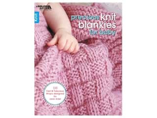 Leisure Arts Precious Knit Blankies For Baby Book