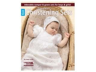 Leisure Arts Timeless Christening Sets Book