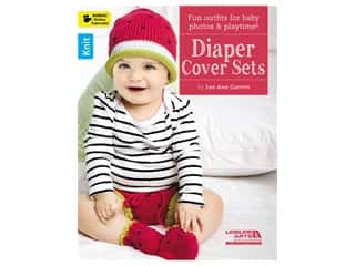 novelties: Leisure Arts Diaper Cover Sets Book
