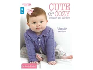 Leisure Arts Cute & Cozy Sweaters And Blankets Book