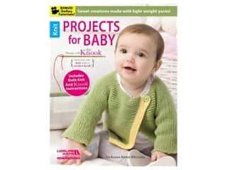books & patterns: Leisure Arts Projects For Baby Made With The Knook Book