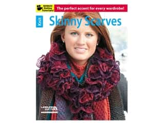 Leisure Arts Skinny Scarves Book