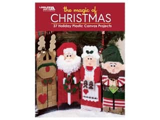 yarn & needlework: Leisure Arts The Magic Of Christmas Plastic Canvas Book