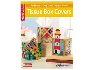 yarn & needlework: Leisure Arts Tissue Box Covers Plastic Canvas Book