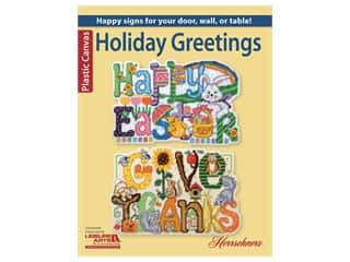 yarn & needlework: Leisure Arts Holiday Greetings Plastic Canvas Book