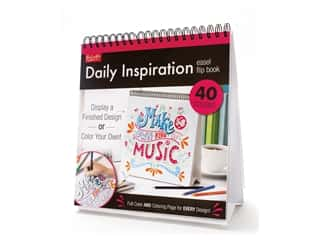 Leisure Arts Daily Inspiration Flip Coloring Book