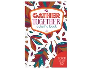 books & patterns: Leisure Arts Color On The Go Gather Together Coloring Book