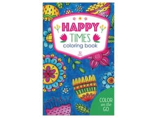 books & patterns: Color on the Go: Happy Times Coloring Book