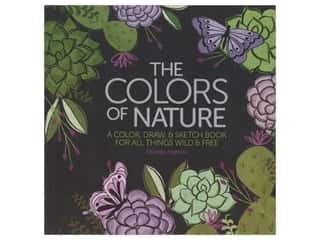 books & patterns: Leisure Arts The Colors Of Nature Coloring Book