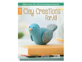 decorative bird': Leisure Arts Clay Creations For All Book
