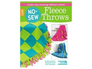 Leisure Arts No Sew Fleece Throws Book