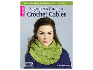 books & patterns: Leisure Arts Beginner's Guide To Crochet Cables Book