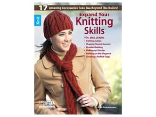 books & patterns: Leisure Arts Expand Your Knitting Skills Book