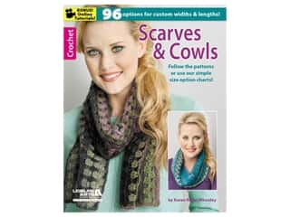 Leisure Arts Crochet Scarves & Cowls Book