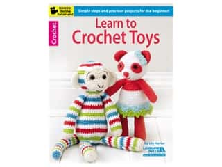 Learn to Crochet Toys Book