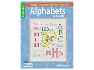 books & patterns: Leisure Arts Alphabets To Stitch Book