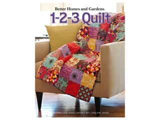 Leisure Arts Better Homes and Gardens 1-2-3 Quilt Book