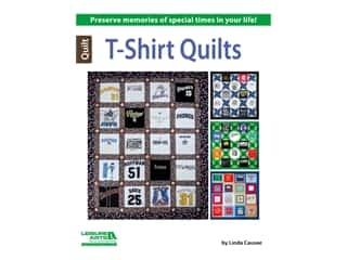 books & patterns: Leisure Arts T-Shirt Quilts Book