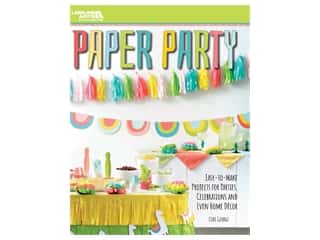 books & patterns: Leisure Arts Paper Party Book