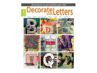 Leisure Arts Decorate With Letters Book