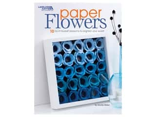 books & patterns: Leisure Arts Paper Flowers Book