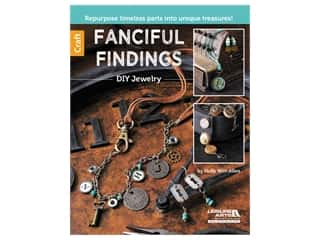 beading & jewelry making supplies: Leisure Arts Fanciful Findings Book