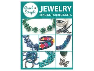 beading & jewelry making supplies: Leisure Arts Quick Simple Jewelry Beading Book