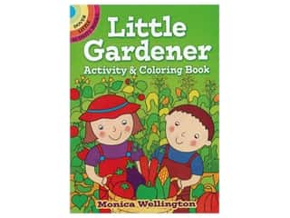 books & patterns: Dover Little Activity Books Little Gardener Activity & Coloring Book