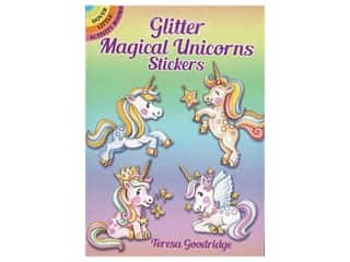 Dover Little Activity Books Glitter Magical Unicorns Sticker Book