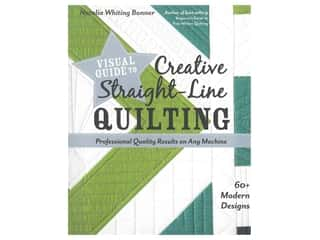 books & patterns: Stash By C&T Visual Guide to Creative Straight-Line Quilting Book