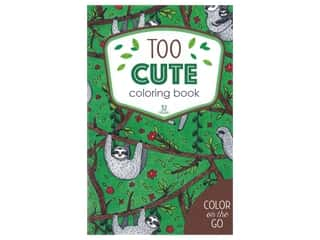 books & patterns: Leisure Arts Color/Go Too Cute Coloring Bk