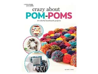 Leisure Arts Crazy About Pom Poms Book