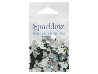 craft & hobbies: Buttons Galore Sparkletz - BOO