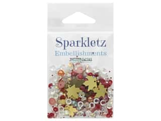 craft & hobbies: Buttons Galore Embellishments Sparkletz Embellishments Fall Foliage