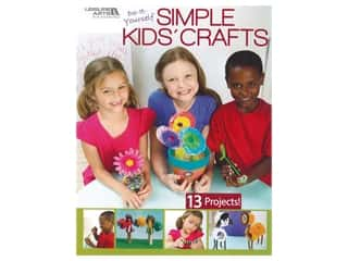 Kids Crafts: Leisure Arts Do-It-Yourself Simple Kids' Crafts Book