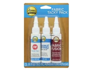 glues, adhesives & tapes: Aleene's Fabric Glue Tacky Pack 3 pc.