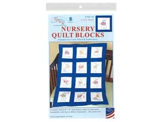 yarn: Jack Dempsey 9 in. Quilt Blocks 12 pc. Little Boys