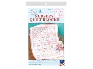 yarn & needlework: Jack Dempsey 9 in. Quilt Blocks 12 pc. Girls