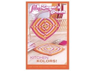 yarn: Lily Books Sugar'n Cream Kitchen Kolors Book