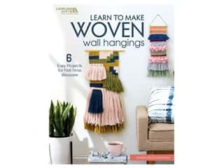 books & patterns: Leisure Arts Learn To Make Woven Wall Hangings Book