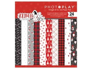 scrapbooking & paper crafts: Photo Play 6 x 6 in. Paper Pad Kringle & Co